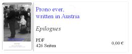 Prono ever written in Austria Epilogues - BK