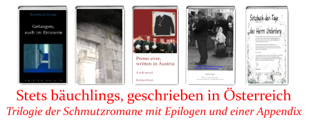 Trilogie der Schmutzromane mit Epilogen und Appendix