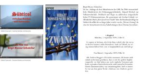 Birgit Mosser-Schuöcker - Andrew Hofer Zwang