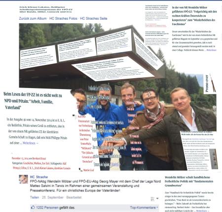 FPÖ Zur Zeit und österreichische Qualitätszeitungen