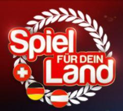 Mit Lorbeer bekränztes antieuropäisches Spiel für dein Land