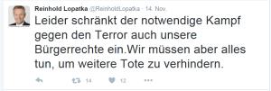Reinhold Lopatka und die Bürgerrechte