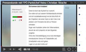 Schießbefehl - Strache Wildschönauer - Pressestunde