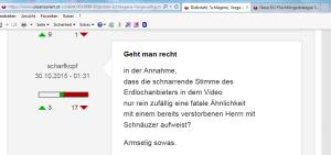 Strache - Vilimsky - Erdloch - Armselig sowas