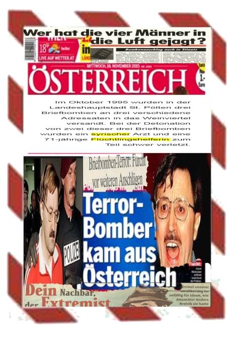 Terrorbomber kaum aus Österreich