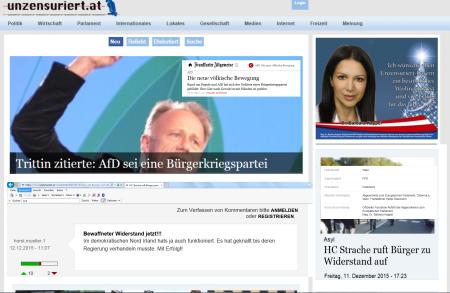 FPÖ unzensuriert - Horst Müller für bewaffneten Widerstand jetzt