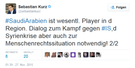 Sebastian Kurz - Player