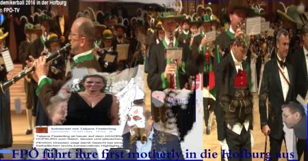FPÖ führt ihre first motherly in die Hofburg aus