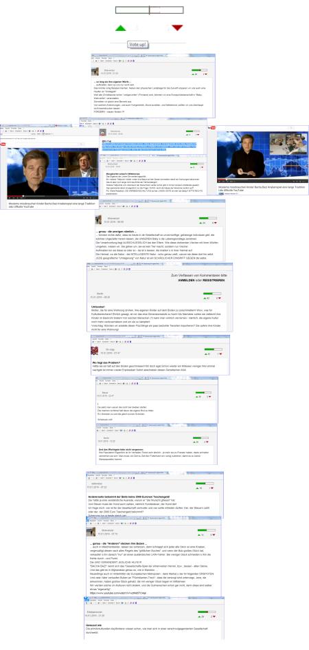 FPÖ unzensuriert Stimmen für Kommentare der Schreibstaffel