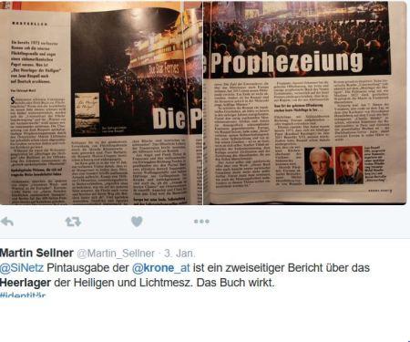 Kronen Zeitung Heerlager 3-1-2016