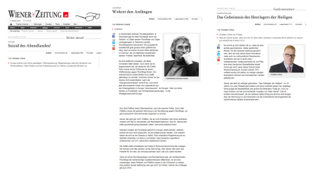 Wiener Zeitung - Ein Vorbild für die Politik