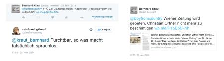 Wiener Zeitung - Furchtbar, so was macht tatsächlich sprachlos