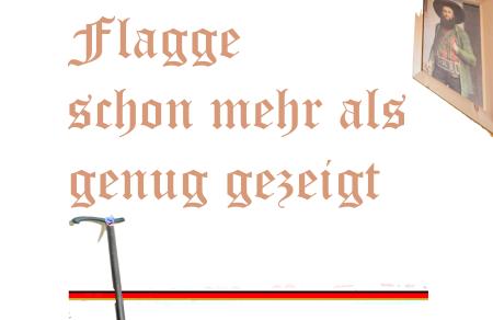 Norber Hofer - Flagge zeigen - Schon mehr als genug