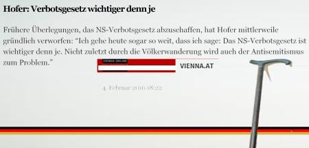 Norbert Hofer Verbotsgesetz