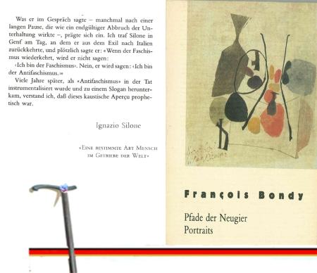 Satz vom Faschismus - Der von Bondy zitierte instrumentalisierte Ignazio Silone