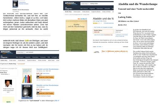 Aladdin und die Wunderlampe - Amazon Antisemitismus