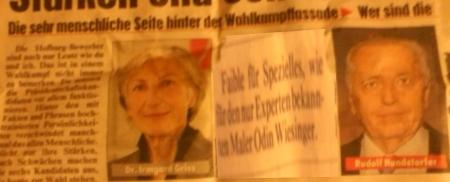 Odin-Wiesinger-Experte ein Kandidat für die Bundespräsidentschaftswahl 22-05-2016