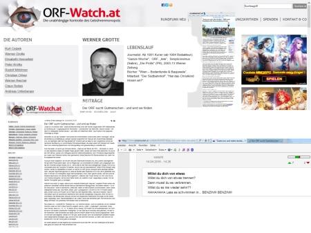 ORF - Bewerbung für Werner Grotte als Satiriker und Gutmensch