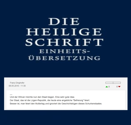 Franz Dinghofer - Befreiung