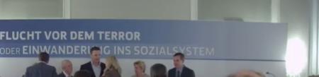 Karin Kneissl und Gudenus im Kursalon Hübner
