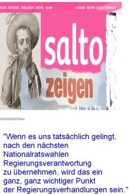 Salto zeigen - Norbert Hofer FPÖ