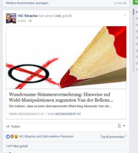 Unzensurierter Strache aus der Hofer-FPÖ