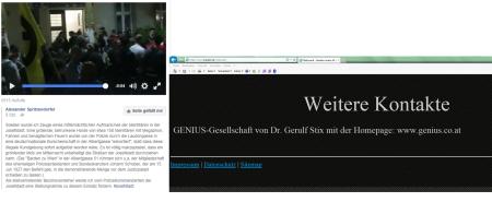 Barden zu Wien - Genius Gerulf Stix freiheitlicher Nationalratspräsident