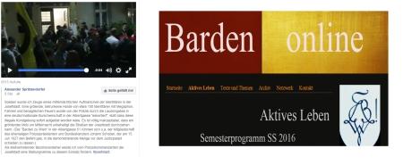 Barden zu Wien SS 2016