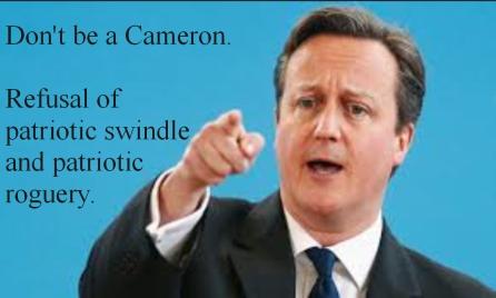 EU plebiscite - dont be a cameron