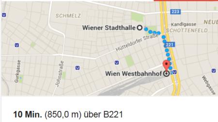 Identitäre kamen nur bis Westbahnhof