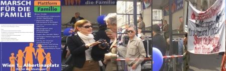 Marsch für die Famiie - Marcus Franz als satifikationsfähige Ebene