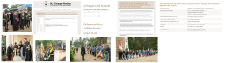 Orden St Georg Ehrenritter Norbert Hofer - Aus allen Teilen der KuK Monarchie