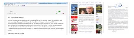 Schwerste Diffamierung von Alexander van der Bellen auf FPÖ unzensuriert