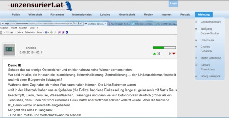 Unzensuriert FPÖ Antaios identitär