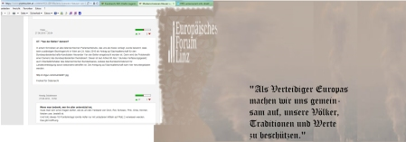 Europäisches Forum Linz - beschützende Werte