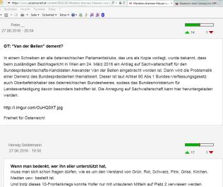 fpö unzensuriert - infamie gegen alexander van der bellen - 6-7-2016