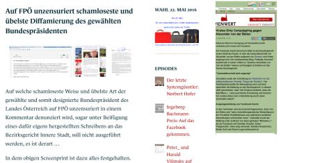 FPÖ unzensuriert ist es und nicht das Facebook