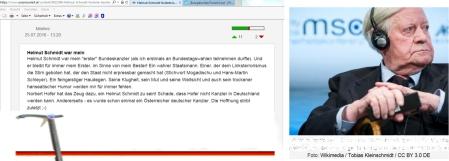 Norbert Hofer - Ein Stock macht noch keinen Schmidt