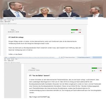 Peter_ und Harald Vilimsky auf FPÖ unzensuriert zu Breixt und Wahlanfechtung