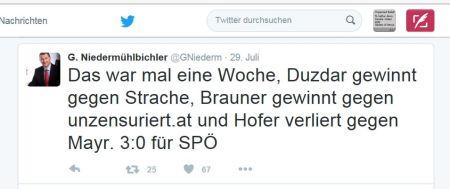 Drei zu null für SPÖ - Eine Niederlage