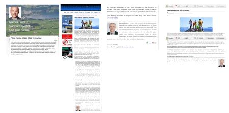 PI-News veröffentlicht Dr Marcus Franz Abgeordneter im Parlament von Österreich