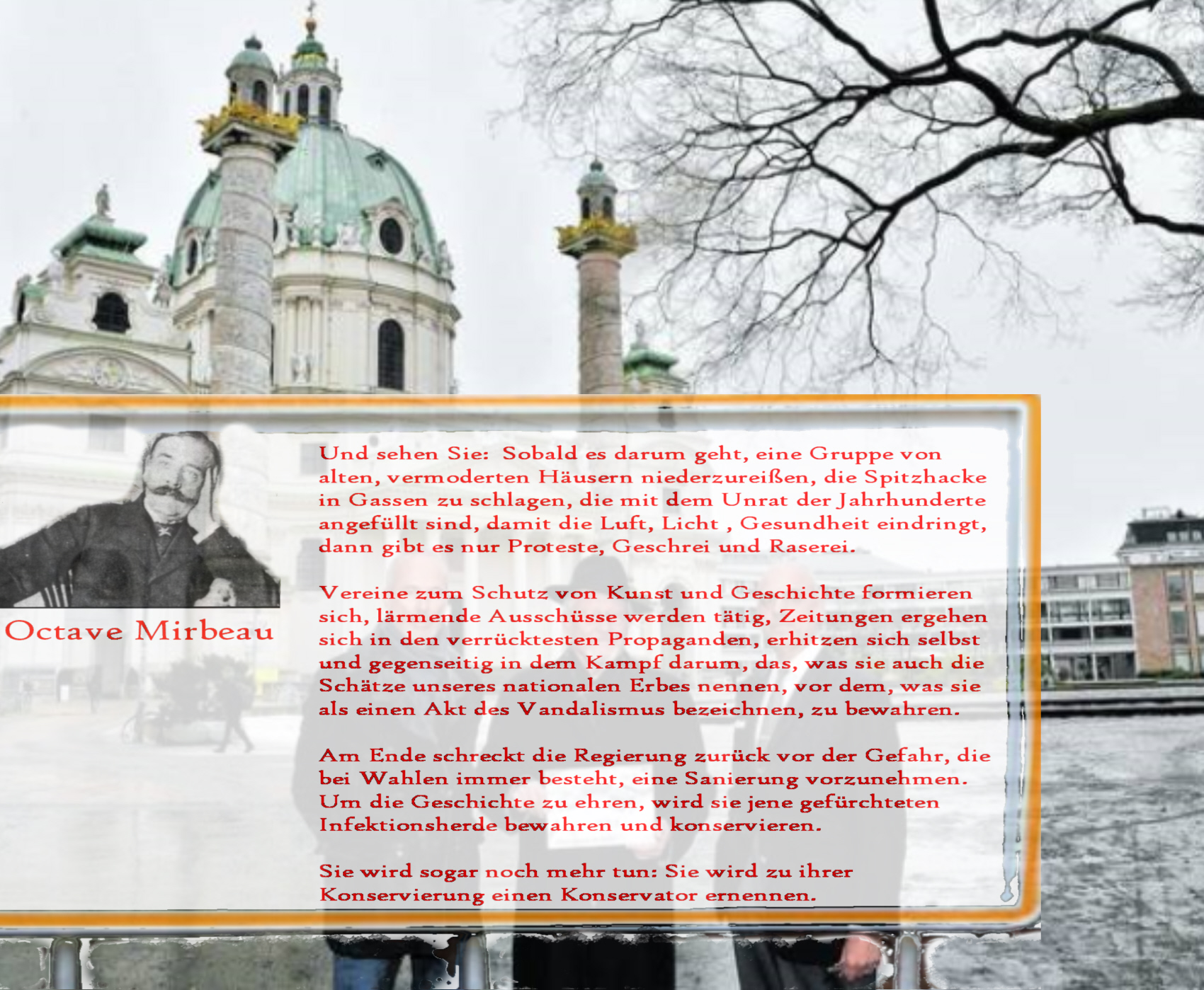Rettet die Karlskirche - Weltkulturerbe