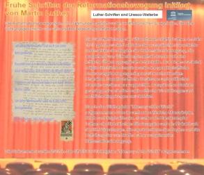 Unesco Weltkulturerbe Schriften Martin Luther