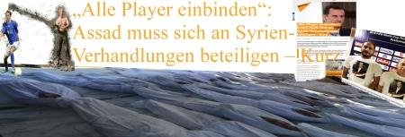 Syrien - Das Spielfeld von Sebastian Kurz