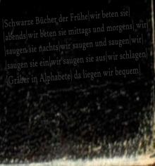 Todesfuge - Heilige Schriften