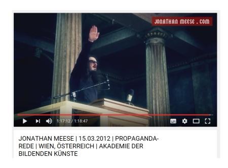 Alltagsgeschichte - In der Akademie mit Jonathan Meese und Hitlergruß