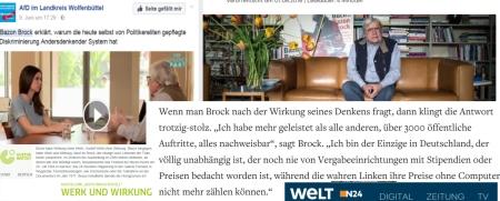 Wolfenbüttel AfD erkennt sich in seinem Diskriminierungsleid in Bazon Brock