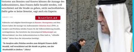 Die Vollverschleierung des Sebastian Kurz