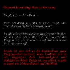 Österreich bestätigt Marcus Steinweg