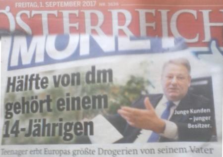 Österreich Exklusiv - DM - Erstes Bild vom Erben